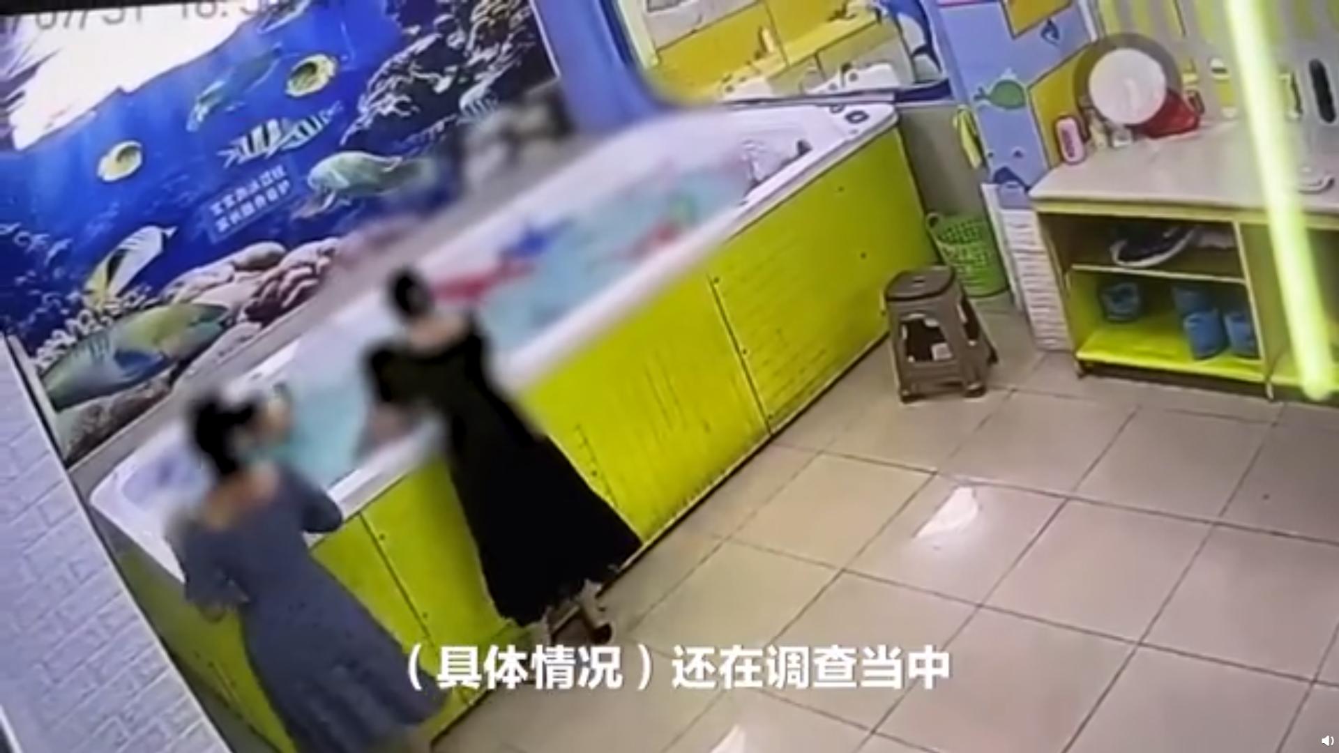 广东揭阳女童泳池内溺亡